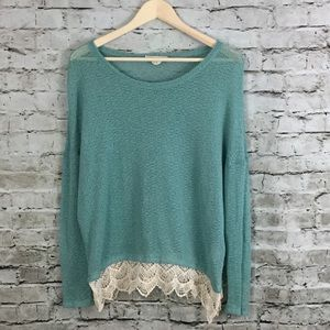 Anthropologie Staring at Stars Knit Top